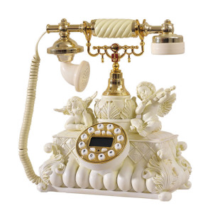 Kindly-Arts-Cupid-European-retro-fashion-personality-telephone-landline-telephone-phone-cute-angel