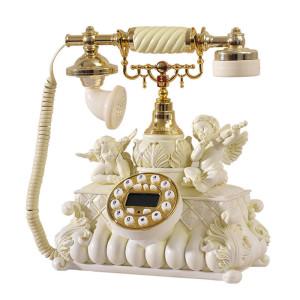Kindly-Arts-Cupid-European-retro-fashion-personality-telephone-landline-telephone-phone-cute-angel